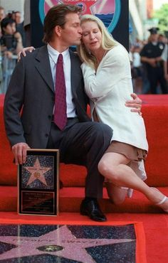 Patrick Swayze and Lisa Niemi Lisa Niemi, Dirty Dancing, Houston, Hollywood Walk Of Fame, In Hollywood, Idole, Famous Couples, People Magazine, Bambi