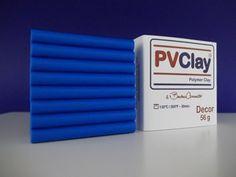 PVClay Decor - 56 Gramas-Azul Royal-42