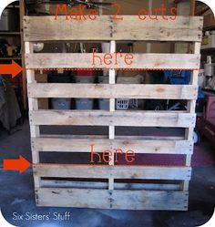 book shelf from pallet, check this out easy how to steps