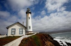 Pigeon Point Lighthouse, Half Moon Bay, CA