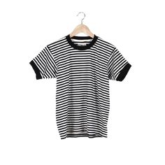 Stripe Ringer Tee / $48 #CampCollection www.shopcamp.com
