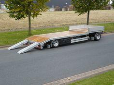 Work Trailer, Trailer Plans, Vans Top, Modern Architecture House, Transport, Camper Trailers, Trucks, Vehicles, Ideas