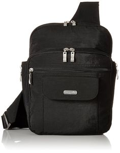 Baggallini Messenger Bagg BS Convertible Cross Body * Awesome product. Click the image : Travel accessories