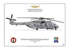 NH90    Manufacturer: NHI  Model: NH-90    FRENCH NAVY . MARINE NATIONALE    Aéronavale Française  Escadrille CEPA  2010