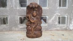 Antique carving of Lord Krishna with Sheshnag from by Lallibhai