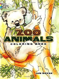 Zoo Animals Coloring Book by Jan Sovak http://www.amazon.com/dp/0486277356/ref=cm_sw_r_pi_dp_eu6Bvb08TR1XQ