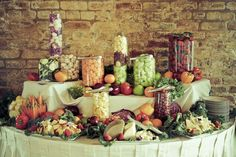 catered buffet table displays - Yahoo Image Search Results