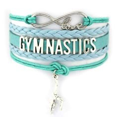 Anyone who's a true student of gymnastics knows the discipline and dedication such a sport demands. For the person who practices it, wearing this bracelet will elicit silent respect. Gymnastics Room, Gymnastics Quotes, Gymnastics Workout, Gymnastics Pictures, Gymnastics Outfits, Gymnastics Leotards, Gymnastics Stuff, Gymnastics Funny, Ballet Leotards
