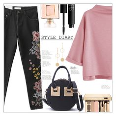 """""""Style Diary"""" by mycherryblossom ❤ liked on Polyvore featuring Chanel, NARS Cosmetics, Cloverpost, simpleoutfit, casualoutfit, polyvoreeditorial and polyvorestyle"""