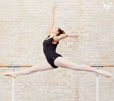 Amazingly stretchy. Watch her soar in our Dance & Gymnastics collection.