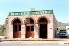 Bird Cage Theatre (built along Allen Street: Photographs of Tombstone, Arizona Places To Travel, Places To Go, Haunted Tours, Tombstone Arizona, Most Haunted Places, Halloween Season, Old West, Ghost Towns, Bird Cage