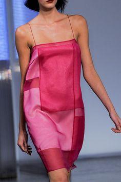 Helmut Lang Spring 2014 / pieced silk