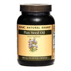 GNC Flax Seed Oil 1000 (90 Caps)