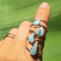 RINGS FOR HAITI  I'm donating 100% of sales made from these dainty little larimar rings to help with the relief effort in Haiti. Thanks to those who have already made a purchase!  If you'd like to get one just send me 3 pieces of info in a DM: 1) your email address 2) your shipping address 3) your ring size. Please read my last post for complete details. Tag someone / share this / make a difference! DONATE DIRECTLY at haitianrefugees.org  #ifyouhavegive #jewelryforagoodcause #haiti…