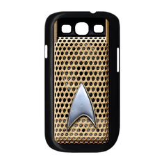 Star Trek Communicator samsung galaxy S3 case ( Black / white Color Case ). $17.89, via Etsy.