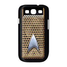 Star Trek Communicator samsung galaxy S3 case ( Black / white Color Case ). $17.89, via Etsy.