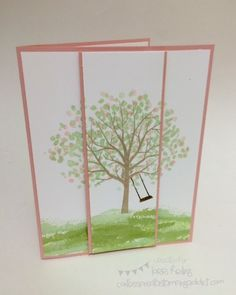 Sheltering Tree Card :: Confessions of a Stamping Addict Lorri Heiling Sheltering Tree Card