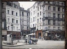 Paris (Ve arr.) par Stéphane Passet ©Musée Albert-Kahn - Département des Hauts-de-Seine