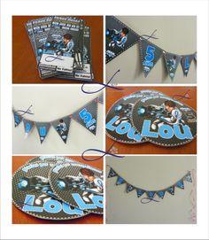 max steel! paquete infantil $289 te incluye: 50 invitaciones + 50 tarjetas de invitado especial + 50 tarjetones para bolo + 50 etiquetas para cilindro o etiqueta para frutsi y de regalo: BANNER PERSONALIZADO By Linda Anguiano
