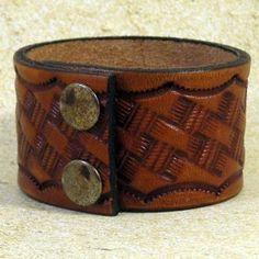 leather cuff design.
