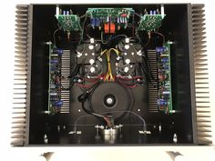 Sugden Audio Masterclass Pure Class 'A' Stereo Power Amplifier - Internal view Master Class, Three Dimensional, Spa, Audio, Pure Products