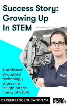 A woman in STEM shares how she got started in the industry and is encouraging young women to embrace the industry. Young Women, Get Started, Professor, Equality, Growing Up, Insight, Encouragement, Success, Technology