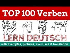 learn German: TOP 100 German Verbs - YouTube