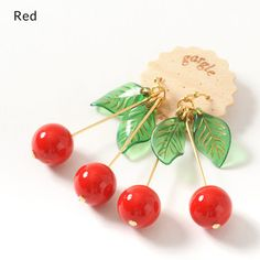 picture of gargle Sweet Cherry Earrings 2