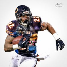 Matt Forte, RB, Chicago Bears. Design by: Alay Patel. March 2014