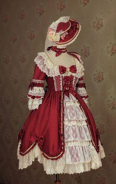 Yolanda -Miss Spencer's Self-portrait- Classic Lolita OP Dress