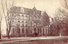WARRENSBURG, MO STATE NORMAL SCHOOL MAIN BUILDING, lost in the great campus file in 1915