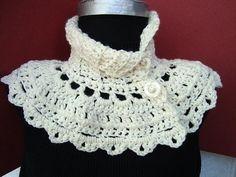 INSTANT DOWNLOAD Crochet Pattern PDF 91 Cream Capelet by ashton11, $4.99