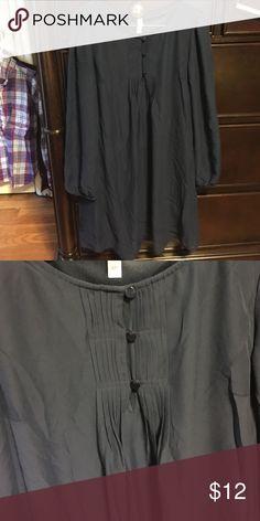 Navy blue dress Long sleeved size small. Worn once. Xhilaration Dresses Long Sleeve