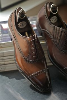 Gorgeous Brown Leather Shoes | SOLETOPIA