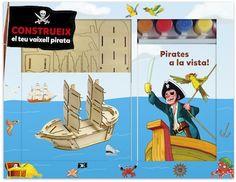 Sigues pirata per un dia: Construieix el teu vaixell pirata! #sortirambnens