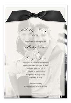 Cute wedding invitation idea - wish-upon-a-wedding
