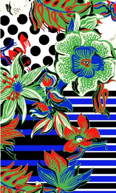 Desigual Floreal Mood by Mr. Christian Lacroix. Spring Summer 2015