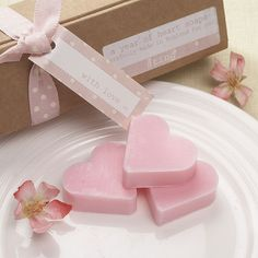 With Love Pink Soaps Box Pack - Confetti.co.uk
