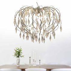 Beautiful hanging pendant light