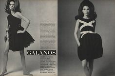"""""""Everything hops, skips, and jumps at Galanos this year—the most beautifully made clothes imaginable, with a new buoyance and ease that couldn't be more lovable."""""""