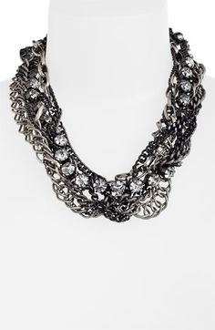 Natasha Couture Multi Strand Statement Necklace available at #Nordstrom