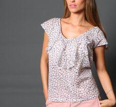 Christmas Sale / Holidays Sale / flower shirt / by girlishstyle, $35.00