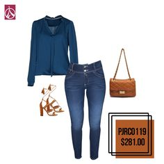 Este #Outfit es ideal para una cita casual. #Moda #Tendencia #Mujer #Outfit  www.paris-jeans.com
