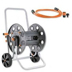 Aluminum and Plastic Gemini Hose Cart *** Click image to review more details.
