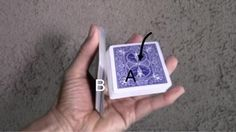 Learn to Do the One-Handed Cut Card Trick: Card Magic Tricks, One-Handed Cut - Drop the Upper Half Magic Tricks For Kids, Magic Card Tricks, Magic Tricks Tutorial, Tutorials, Learn Card Tricks, Ritual Magic, Street Magic, Sleight Of Hand, Free Cards