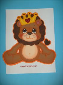 Felt Mobile, Jungle Animals, Tole Painting, Winnie The Pooh, Crafts For Kids, Applique, Projects To Try, Lions, Baby Shower