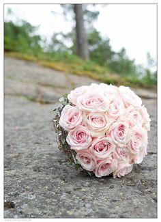 FLORISS Ålgård: Min brudebukett.