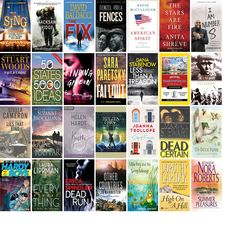 """Wednesday, April 26, 2017: The Corbin Public Library has nine new bestsellers, four new videos, two new audiobooks, two new children's books, and 15 other new books.   The new titles this week include """"Sing - Special Edition,"""" """"Hacksaw Ridge,"""" and """"The Fix."""""""