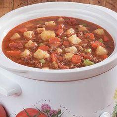 Darrell's Beef Stew - Adrian's top 7 soups
