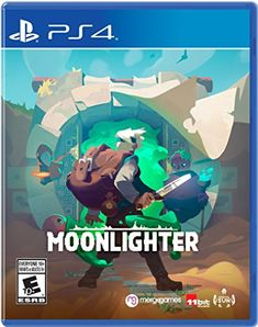 Moonlighter for Nintendo Switch - Nintendo Game Details Playstation Games, Xbox One Games, Nintendo Games, Ps4 Games, Nintendo Switch, Mundo Dos Games, Weird World, Box Art, Game Of Life